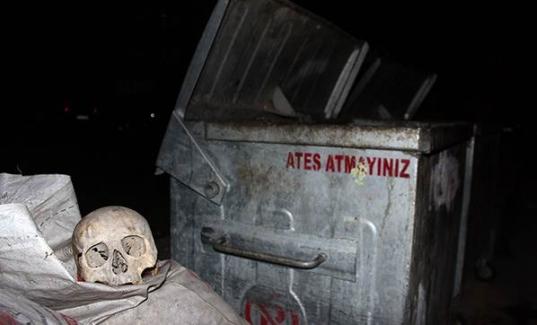 Çöpten insan kafası çıktı! Uşak son dakika haberleri