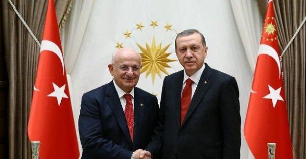 Cumhurbaşkanı Erdoğan, TBMM Başkanı Kahraman ile görüştü!