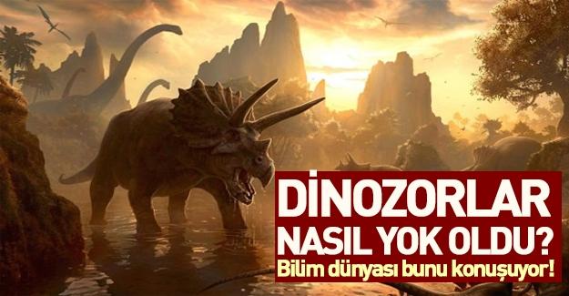 Dinozorlar nasıl yok oldu? İşte bilim dünyasını sarsacak o iddia...