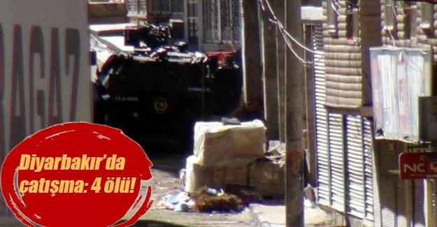 Diyarbakır'da çatışma! Sokağa çıkma yasağı olan Silvan'da 4 ölü!