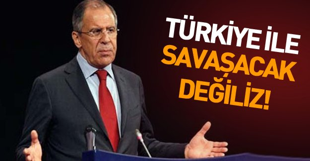 Düşürülen uçak sonrası Rusya'yla ilk temas yapıldı: Türkiye ile savaşacak değiliz