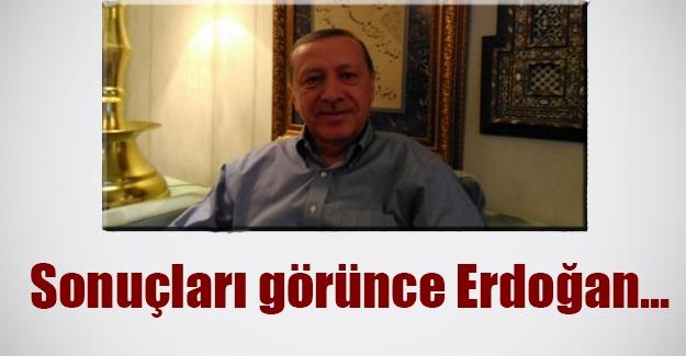 Erdoğan'ın yüzü gülüyor! Yüzde 50'yi gören Erdoğan sevinci fotoğraf karelerine yansıdı...