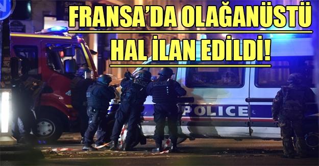 Fransa'da olağanüstü hal ilan edildi! Hollande'dan flaş açıklamalar