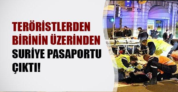 Fransa'da saldırı düzenleyen teröristlerden birinin üzerinden Suriye pasaportu çıktı!