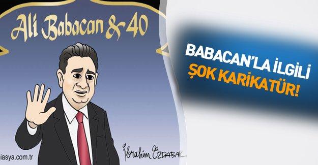 Kabineye giremeyen Babacan'ı böyle çizdiler!