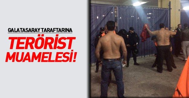 İspanyol polisinden G.Saraylılara terörist muamelesi!