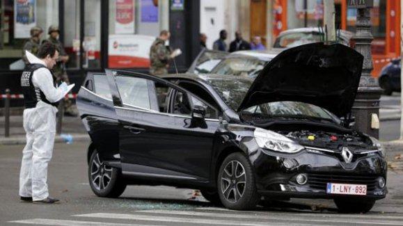 İşte Paris'teki katliamda kullanılan o otomobil!