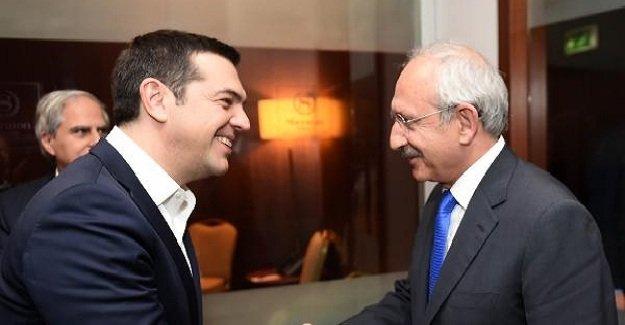Kılıçdaroğlu Çipras ile görüştü!