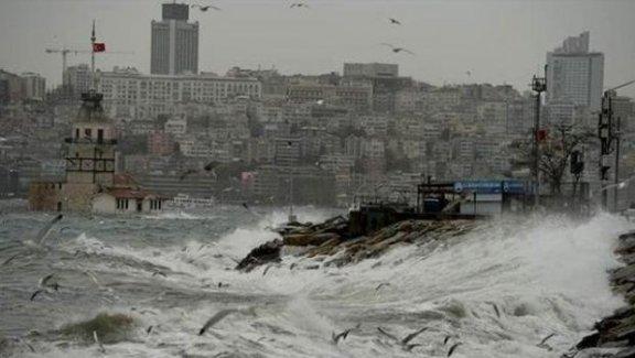 Lodos Marmara'yı vurdu! THY seferleri iptal