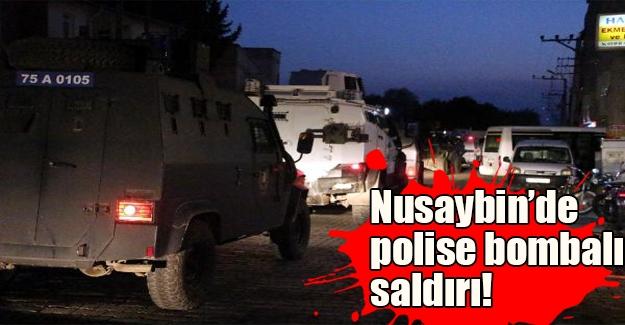 Mardin'de PKK terörü! Nusaybin'de zırhlı araca bombalı saldırı düzenlendi