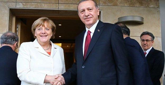 Merkel teşekkürlerini iletti!