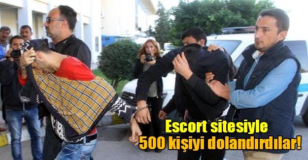 Muğla'da 'escort' şoku! Eskort sitesiyle 500 kişiyi dolandırdılar
