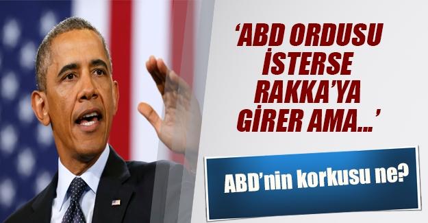 Musul'a ve Rakka'ya girebiliriz ama... Obama'dan flaş ifadeler
