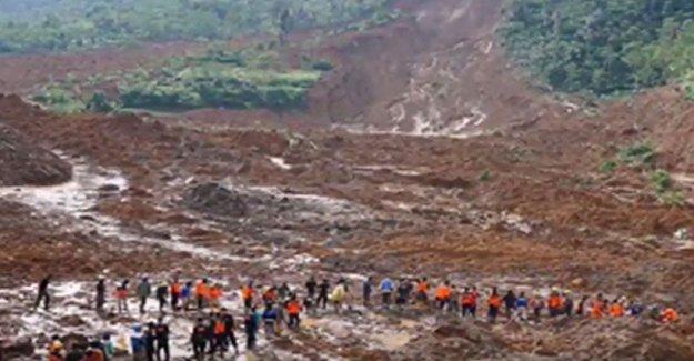 Myanmar'da facia! Toprak kayması sonucu onlar kişi öldü