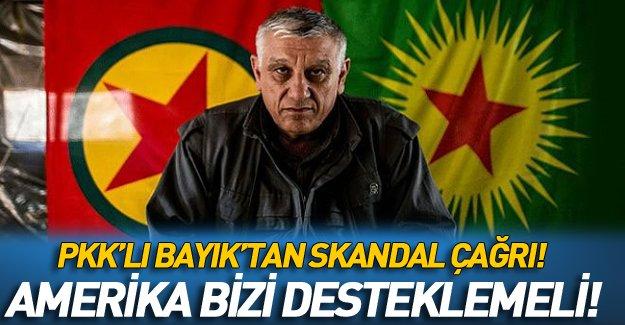 PKK'lı Cemil Bayık'tan ABD'ye şok çağrı!