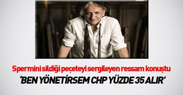 Ressam Bedri Baykam: CHP'yi ben yönetsem yüzde 35 alır