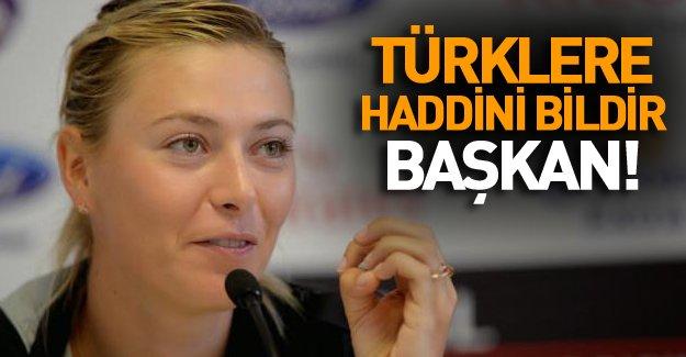 Rus tenisçiden Türklere Sert Tepki!