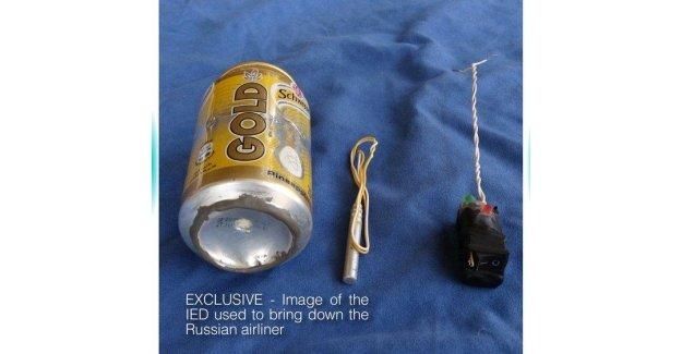 Rus uçağını düşüren bombanın fotoğrafı yayınlandı!