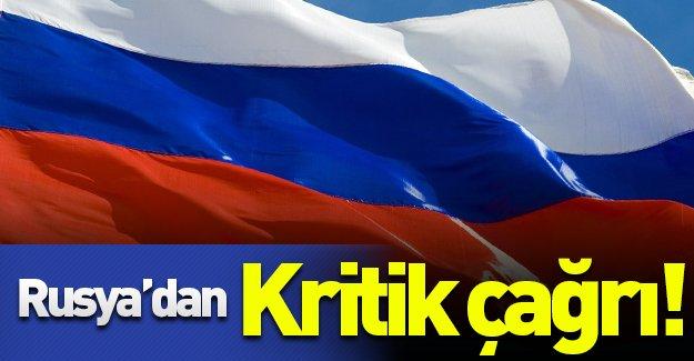 Rusya'dan kritik çağrı! ''Türkiye'de bulunan Rus vatandaşlar...''