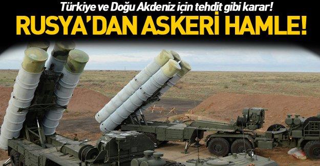Rusya, Lazkiye'ye S-400 füzeleri yerleştiriyor!