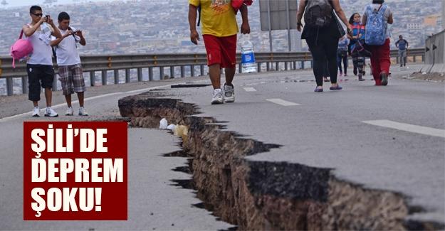Şili'de deprem şoku! 6.8 büyüklüğünde deprem meydana geldi