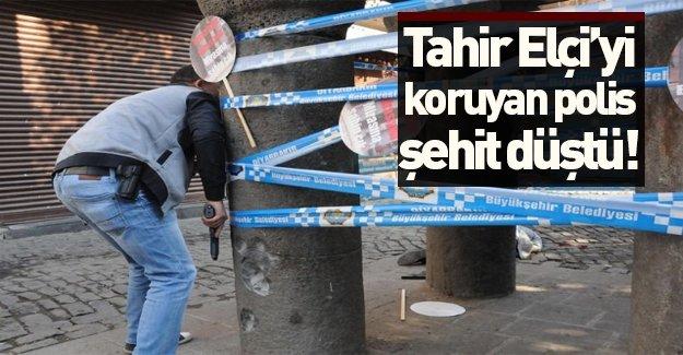 Tahir Elçi'yi koruyan polis şehit oldu!