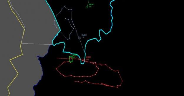 TSK düşürülen uçağın iz analizini yayınladı!