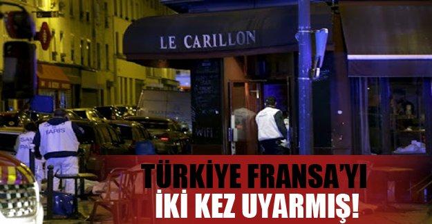 Türkiye, Fransa'yı o terörist için iki kez uyarmış!