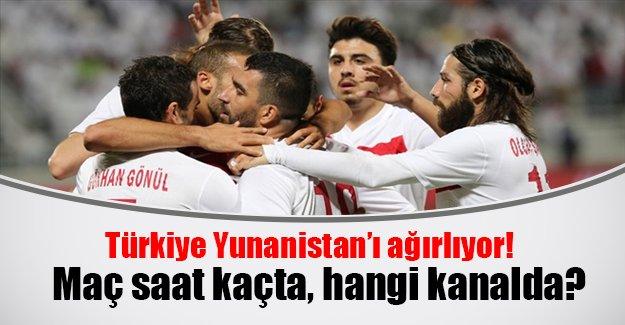 Türkiye Yunanistan maçı hangi gün, saat kaçta? Türkiye Yunanistan şifresiz canlı izle
