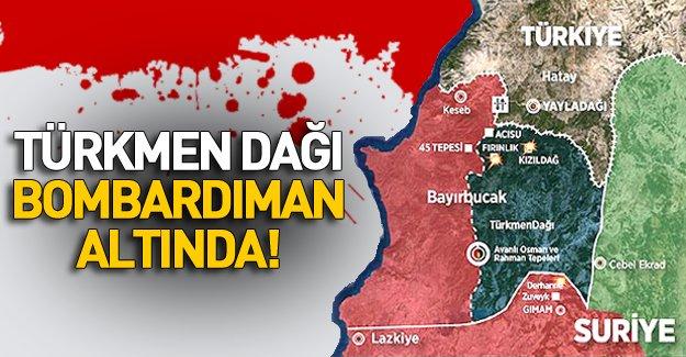 Türkmen Dağı'nda Bombardıman Tekrar Başladı