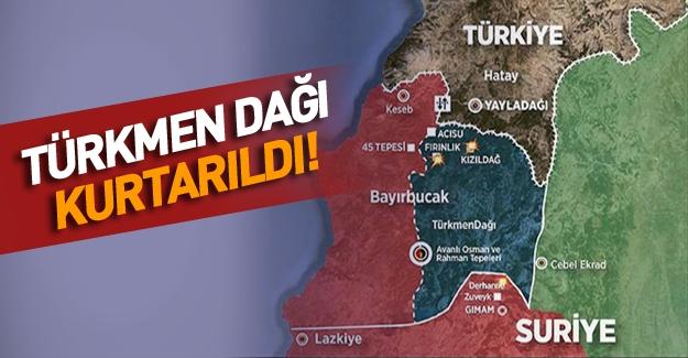 Türkmenler'den Esed'e büyük darbe! Türkmenler Kızıldağ'ı rejim birliklerinden geri aldı!
