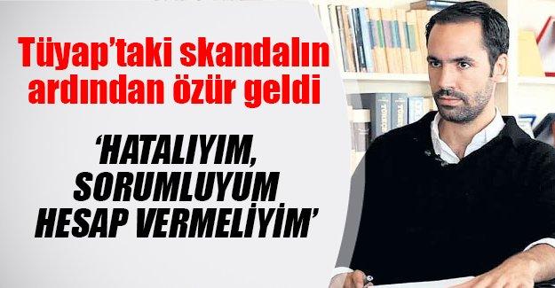 Tüyap'ta yaşanan rezilliğin ardından yayınevi sahibinden özür geldi!