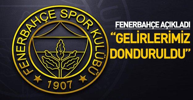 UEFA Fenerbahçe'nin kupa gelirlerini dondurdu