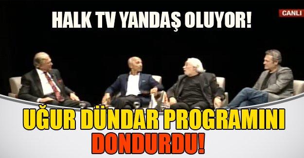 """Uğur Dündar programını durdurdu! Halk TV """"yandaş"""" oluyor"""