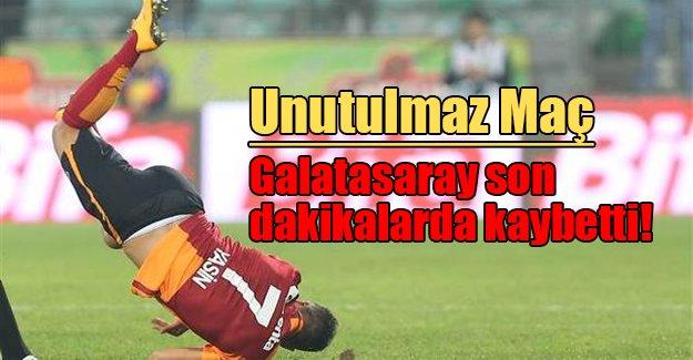 Unutulmaz maç! Rizespor: 4 Galatasaray: 3
