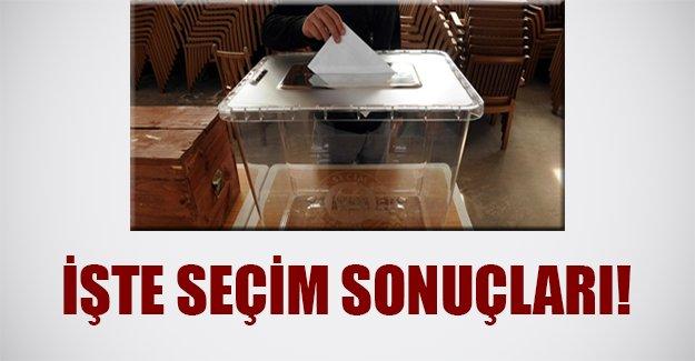 Yasak kalktı! İşte 1 Kasım seçim sonuçları...