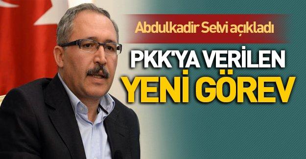 Abdülkadir Selvi PKK'ya verilen yeni görevi yazdı!