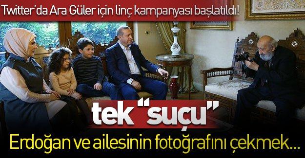 Cumhurbaşkanı Erdoğan'ın fotoğrafını çeken Ara Güler Twitter'da linç edildi!