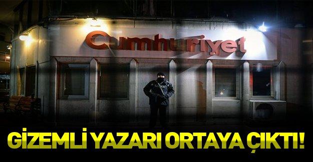 Cumhuriyet Gazetesi'nin gizemli yazarı belli oldu!