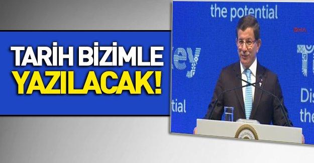 Davutoğlu Türkiye Markası'nı tanıttı