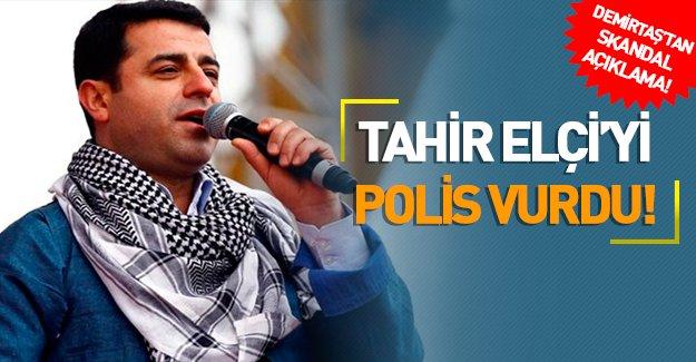 """Demirtaş; """"Tahir Elçi'yi öldüren kurşunun polisin silahından çıktığı kesin"""""""