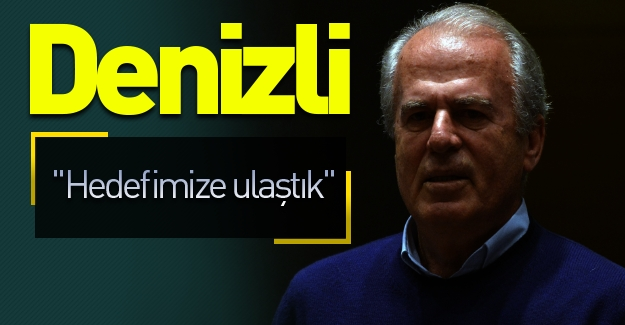 Denizli, Astana maçı sonrası konuştu: ''Hedefimize ulaştık''