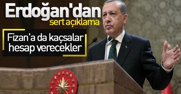 Erdoğan: İhanetin ilacı yoktur. Hesap verecekler...