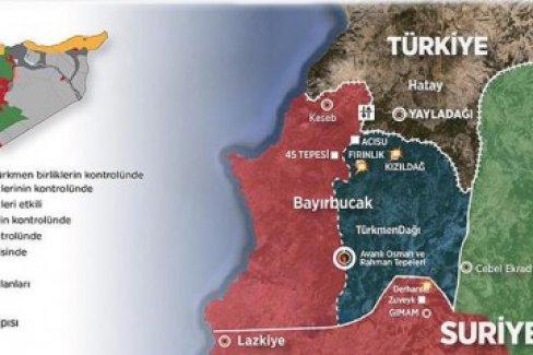 Esed güçleri Türkmenlere saldırılarını yoğunlaştırdı