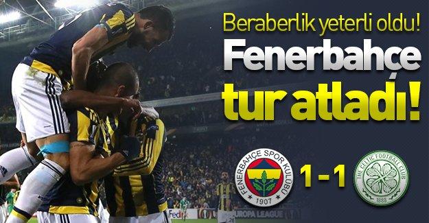 Fenerbahçe'ye beraberlik yetti! Kanarya tur atladı! (Fenerbahçe 1-1 Celtic)