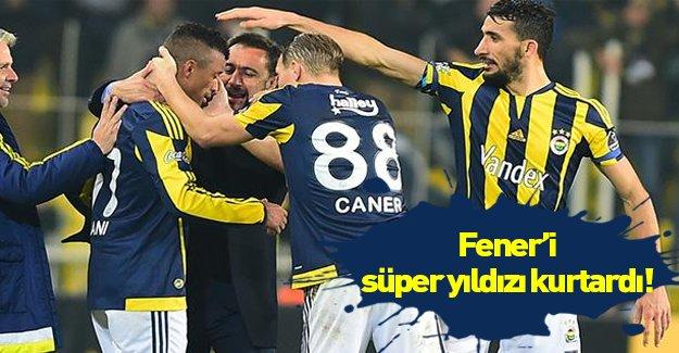 Fenerbahçe zorlandığı maçtan 1-0 galip ayrıldı!