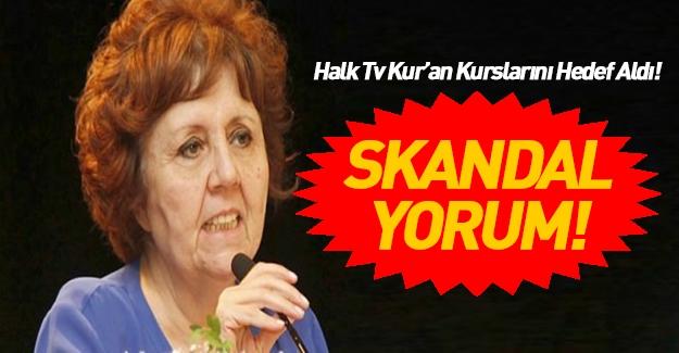 Halk TV'de skandal Kur'an kursu yorumu