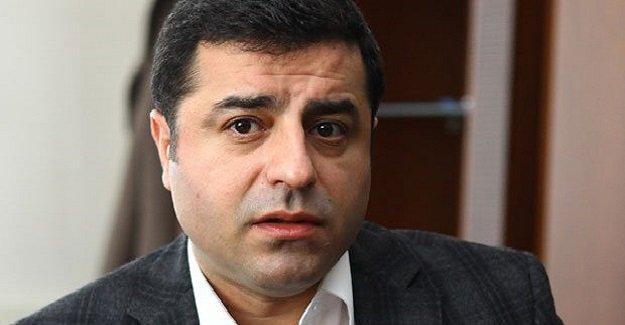 HDP Eş Genel Başkanı Demirtaş Kuzey Irak'a gitti!