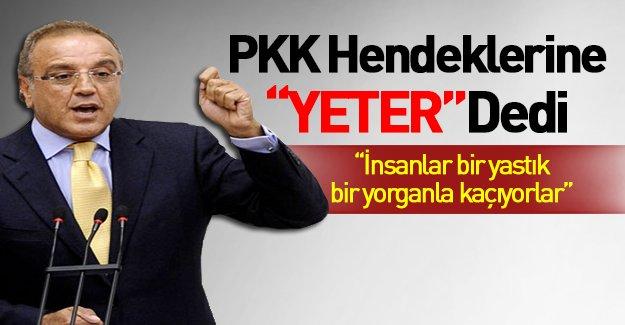 HDP'li Sakık'tan hendek tepkisi