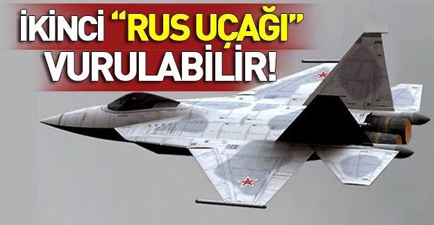 İkinci Rus uçağını İsrail düşürebilir!